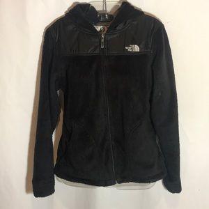Northface Fleece ZIP Front Hooded Jacket S